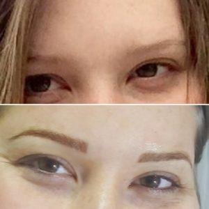 dermopigmentazione sopracciglia clara